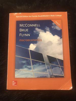 Macroeconomics text Book for Sale in Naples, FL