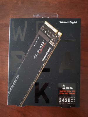 WD SN750 1TB BLACK EDITION NVME for Sale in Las Vegas, NV