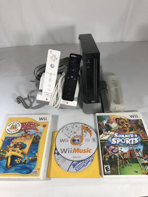 Wii package black edition for Sale in Cohasset, CA