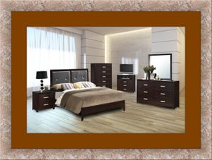 B120 11pc bedroom set with mattress for Sale in Rockville, MD