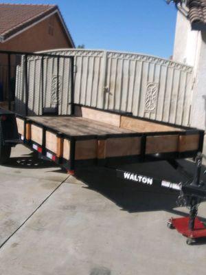 Walton Utility Trailer 2017 for Sale in Moreno Valley, CA