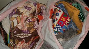 Free Fabric Of All Kinds!! 7 bags FULL for Sale in Bothell, WA