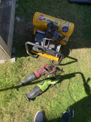 Compressor and 2 sawzalls for Sale in Bothell, WA