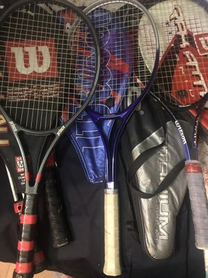 New Tennis rackets with cover for Sale in Queens, NY
