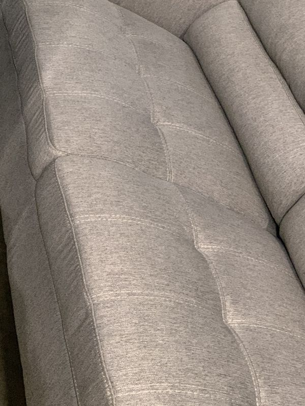 Light Gray Fabric Sofa Like New For Sale In Fort