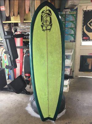Boss Surfboards 6' single-fin fish tail.. perfect condition! for Sale in Los Alamitos, CA