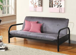 Metal Futon and Mattress *BRAND NEW* for Sale in Silver Spring, MD
