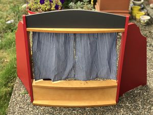 Preowned puppet theatre for Sale in Seattle, WA