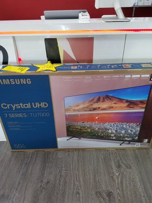 Samsung smart TV series 7 inch 55 $50 down no credit needed finance today for Sale in Garland, TX