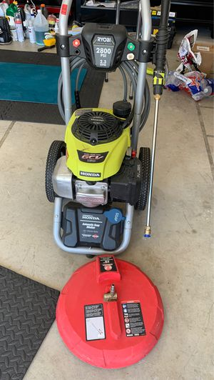 Ryobi pressure washer for Sale in Frisco, TX