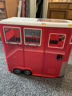 Toy horse trailer for Sale in Medford, OR