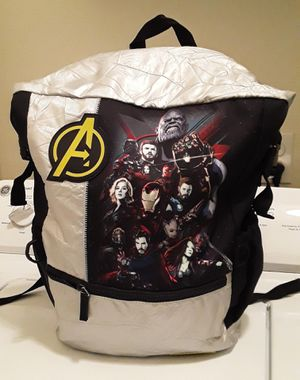 Disney store marvels avengers infinity war fold - top backpack silver for Sale in Fresno, CA