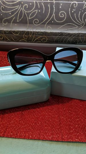 Tiffany & Co TF4158 Black/Blue Cat Eye Sunglasses for Sale in McKeesport, PA
