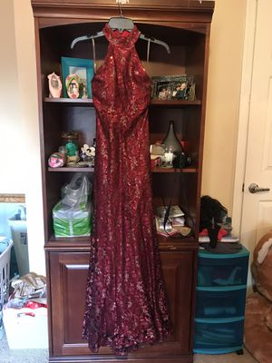 Red Sequin Prom Dress for Sale in Phoenix, AZ