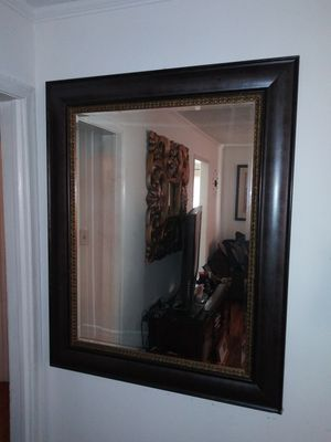 PRICE CUT!!! X-large wall mirror for Sale in S CHESTERFLD, VA
