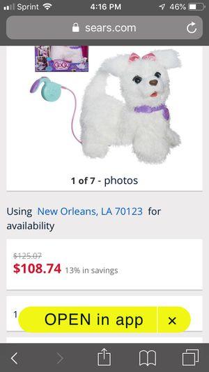 FurReal friends walking pup for Sale in Marrero, LA