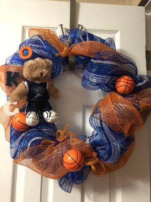 Okc thunder wreath for Sale in Oklahoma City, OK