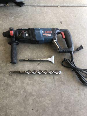 Bosch hammer drill set for Sale in Phoenix, AZ
