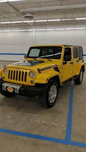 2015 Jeep Wrangler Sahara Unlimited for Sale in Walton Hills, OH