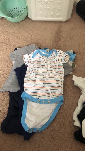 Baby boy clothes 0-12 months for Sale in Palm Harbor, FL