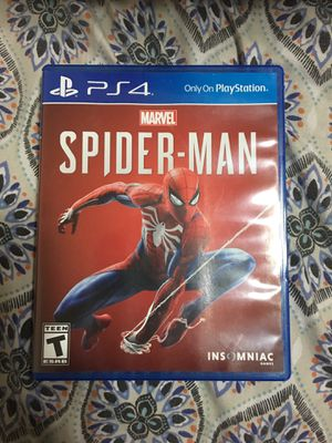 Spider man for ps4 for Sale in Herndon, VA