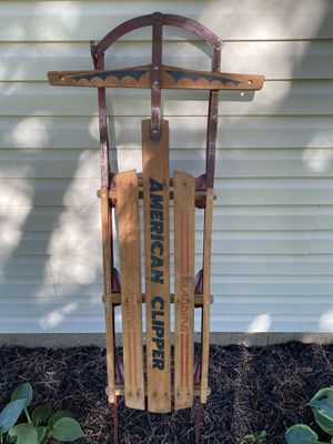 Antique/Vintage American Clipper Sled for Sale in Pekin, IL