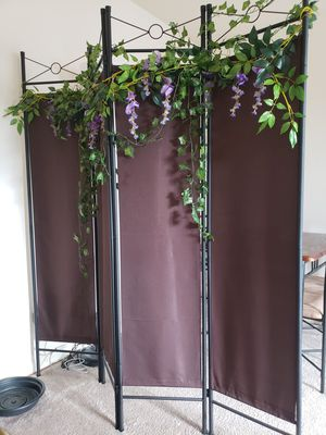 Room divider with decor for Sale in Arlington, VA