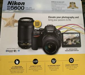 Nikon D5600 Bundle Brand New for Sale in Chula Vista, CA
