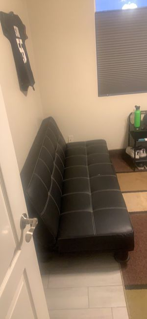 Leather Futon for Sale in Apache Junction, AZ