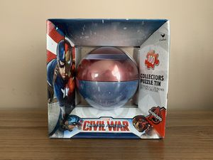 Captain America Civil War puzzle collectors for Sale in Manalapan Township, NJ
