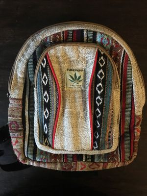 Mini hemp backpack thc free like new, no signs of wear. for Sale in Wheaton-Glenmont, MD
