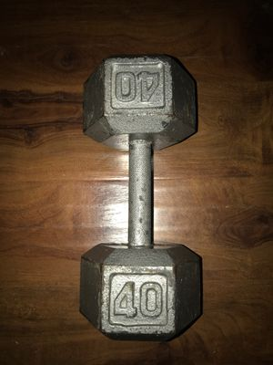 Single Weight dumbbell for Sale in Fort Worth, TX
