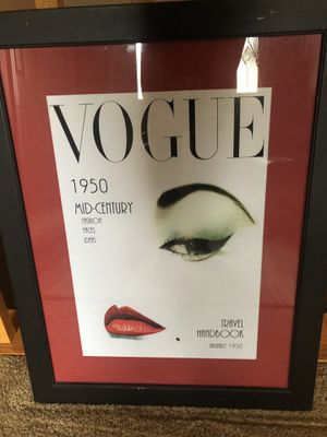 VOGUE Framed & Matted Print for Sale in Wasilla, AK