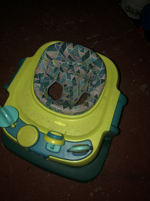 Kids walking chair with toys! for Sale in Dearborn Heights, MI