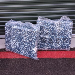 Pillow Perfect Patio Cushions X2 for Sale in Las Vegas, NV