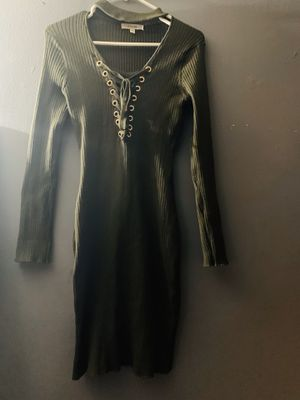 Olive green dress for Sale in Paramount, CA