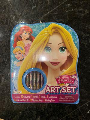 Princess Rapunzel Ariel Cinderella Art set for Sale in Glendale, AZ