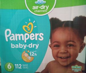 PAMPERS BABY DRY for Sale in Perris, CA