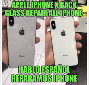 iPhone X screen 7 screen 8 plus screen part etc . We REP.AI.R AS WELL ALL IPHONE PARTS HERE HABLAMOS ESPAÑOL for Sale in Los Angeles, CA