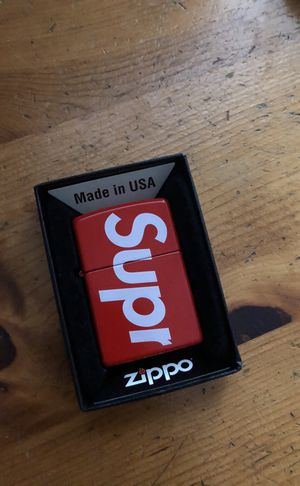 Supreme Zippo Brand New SS18 Week 1 for Sale in Austin, TX