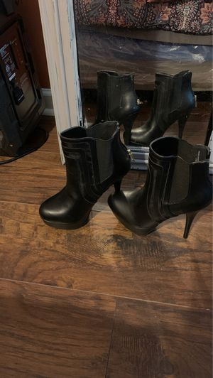 Sexy Sophisticated!!!!! Black half Boots 7 1/2 Brand new !!!!! Great deal $25per pair for Sale in College Park, GA