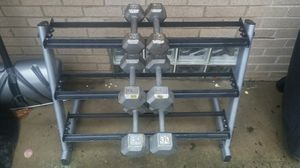 3 TIER DUMBBELL WEIGHT RACK for Sale in Columbus, OH