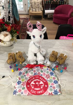 Build-a-Bear Girl Christmas Stuffed Animal Reindeer with Shoes & Roller Skates for Sale in Mesa, AZ