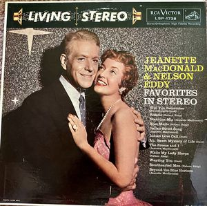 "Jeanette MacDonald & Nelson Eddy ""Favorites in Stereo"" Vinyl Album $10 for Sale in Ringgold, GA"