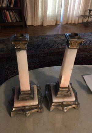 Antique marble candelabra for Sale in Los Angeles, CA