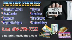 BUSINESS CARDS $39,99 {818} 799 for Sale in Los Angeles, CA