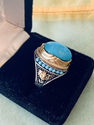 925 sterling silver turquoise gems ring for Sale in Los Angeles, CA