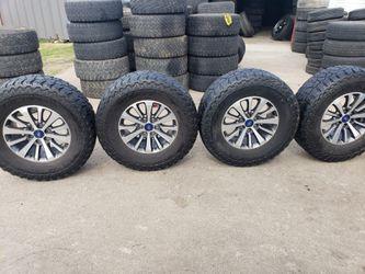 Rines Para Ford 6 virlos originales con llantas 35×12/50 R 18 for Sale in Fort Worth,  TX