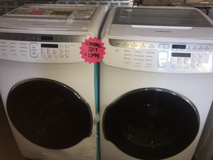 Samsung flex washer and electric dryer for Sale in San Luis Obispo, CA
