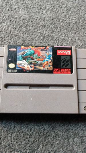 Street fighter 2 super Nintendo game for Sale in San Diego, CA